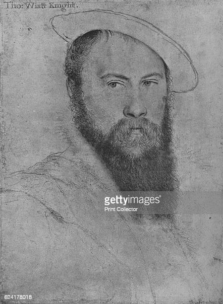 Sir Thomas Wyatt' c15351537 Sir Thomas Wyatt was a 16thcentury English ambassador and lyrical poet The drawing is part of the Royal Collection Trust...