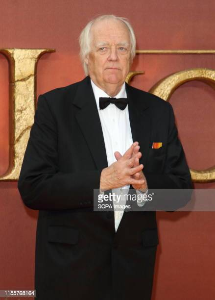Sir Tim Rice attends the European Premiere of Disney's The Lion King at the Odeon Luxe cinema Leicester Square in London