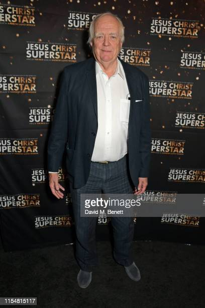 """Sir Tim Rice attends the press night after party for """"Jesus Christ Superstar"""" at The Refinery on July 9, 2019 in London, England."""