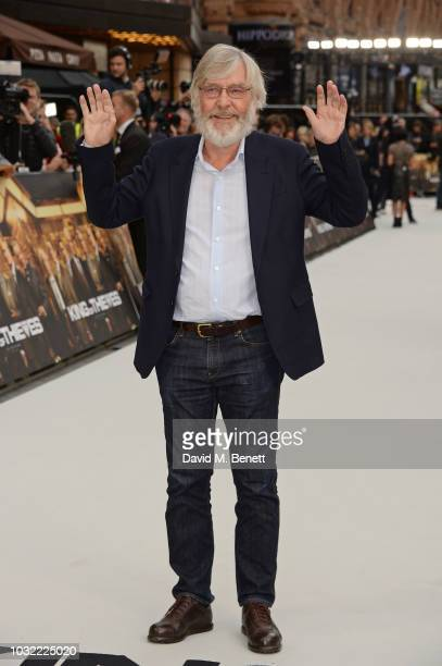 Sir Tom Courtenay attends the World Premiere of King Of Thieves at Vue West End on September 12 2018 in London England