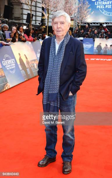 Sir Tom Courtenay attends the World Premiere of The Guernsey Literary And Potato Peel Pie Society at The Curzon Mayfair on April 9 2018 in London...