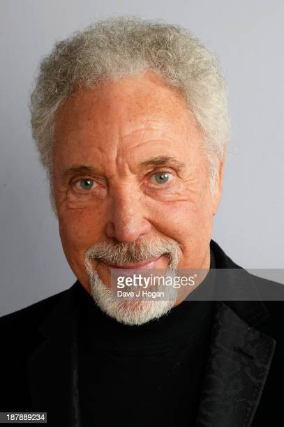 Sir Tom Jones poses backstage during the 'BBC Children In Need Rocks' at Hammersmith Eventim on November 13 2013 in London England BBC Children In...