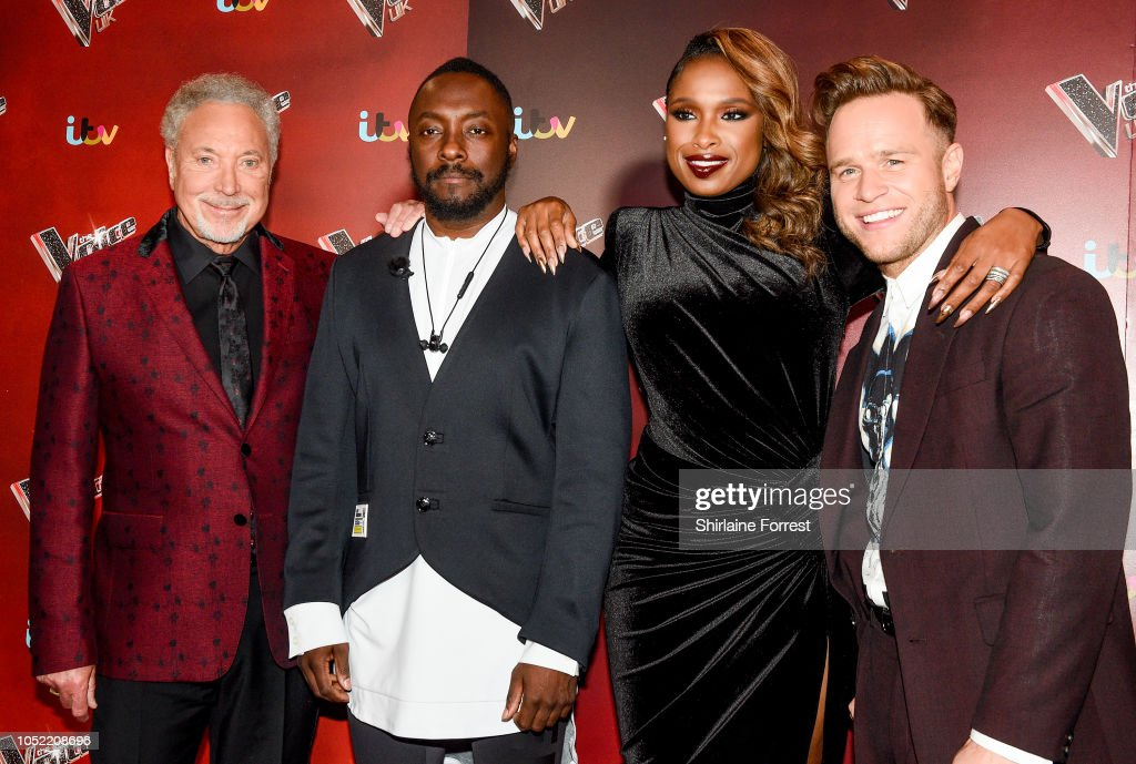 The Voice UK 2018 Photocall : News Photo