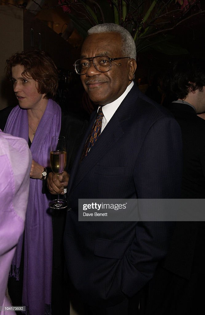 Sir Trevor Mc Donald, At The Theatre Royal Haymarket,and The Party At The Trafalgar Hotel, London.
