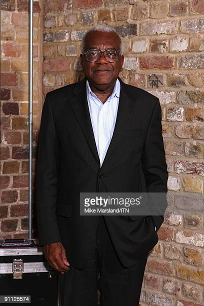 Sir Trevor McDonald poses ahead of the performance at the Newsroom�s Got Talent event held in aid of Leonard Cheshire Disability and Helen Douglas...