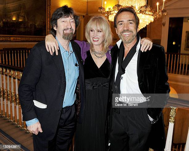 Sir Trevor Nunn Joanna Lumley and Robert Lindsay attend an after party following the Press Night performance of 'The Lion In Winter' at The Institute...