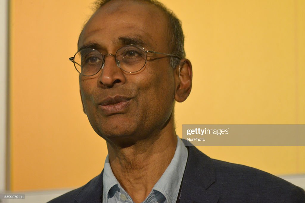 Sir Venki Ramakrishnan, President of the Royal Society, a member of the United Kingdom's Medical Research Council Laboratory of Molecular Biology and foriegn member of the Indian National Science Academy, attending the EuroScience Open Forum on July 25th, 2016, in Manchester, England.