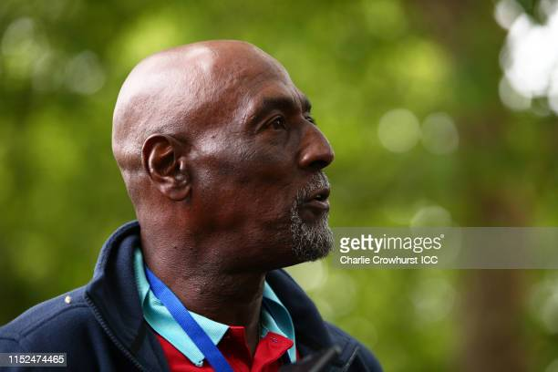 Sir Vivian Richards of West Indies looks on during the ICC Cricket World Cup 2019 Opening Party at The Mall on May 29, 2019 in London, England.
