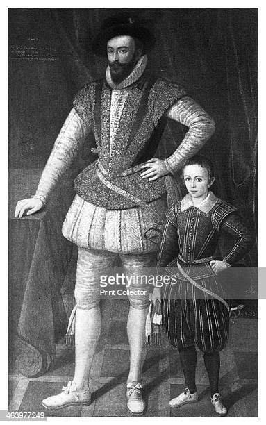 Sir Walter Raleigh and his son English writer poet courtier and explorer Raleigh was a favourite of Queen Elizabeth I who knighted him in 1585 In...