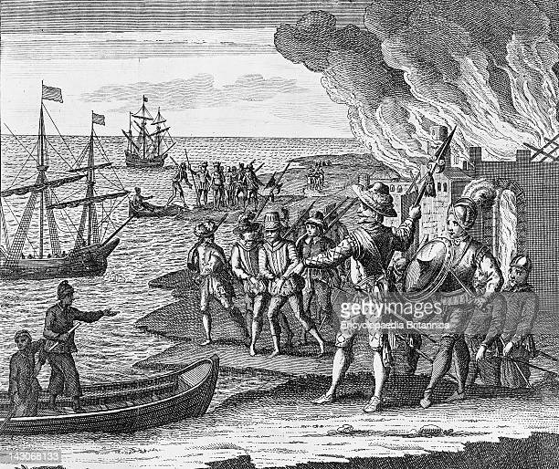 Sir Walter Raleigh'S Conquest Of Trinidad, Sir Walter Raleigh'S Conquest Of The City Of St, Joseph, Trinidad, Although The Spanish Remained The...