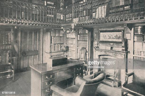 Sir Walter Scott's Study Abbotsford' 1904 Sir Walter Scott was a Scottish historical novelist playwright and poet Abbotsford is a historic country...