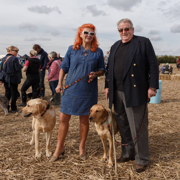 Sir William and Lady McAlpine, Ploughing Match