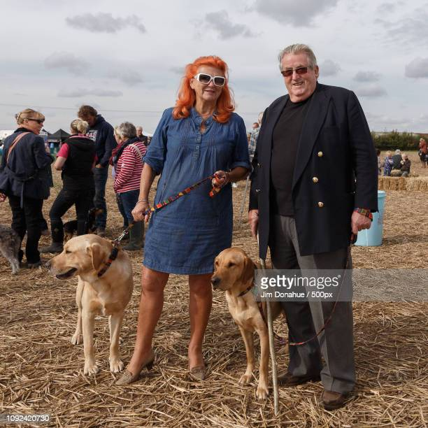 sir william and lady mcalpine, ploughing match - jim donahue stock pictures, royalty-free photos & images