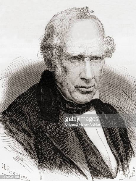 Sir William Fairbairn 1st Baronet 1789 – 1874 Scottish civil engineer structural engineer and shipbuilder From Les Merveilles de la Science published...