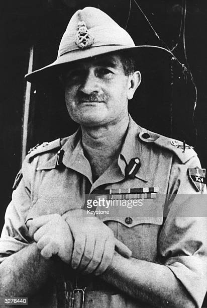 Sir William Joseph Slim British Field Marshal was the Commander of the 14th 'Forgotten Army' in Burma during the second world war