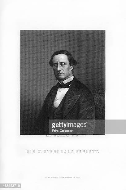 Sir William Sterndale Bennett English composer An engraving of Bennett from James Taylor's The Victorian Empire William Mackenzie