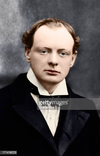 Sir Winston Churchill as a young man British Prime Minister 18741965