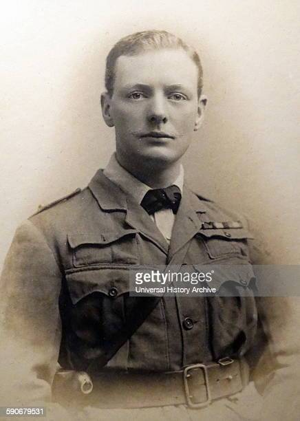 Sir Winston Churchill as an officer in the South African Light Horse 1899 He was among the first British troops into Ladysmith and Pretoria during...