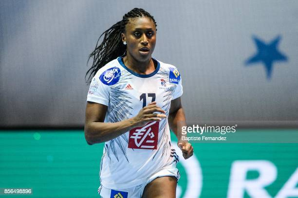 Siraba Dembele of France during the handball women's international friendly match between France and Brazil on October 1 2017 in TremblayenFrance...