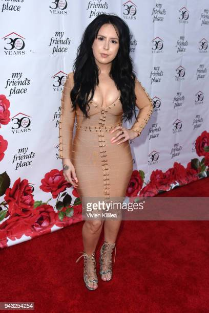 Sirah attends the My Friend's Place 30th Anniversary Gala at Hollywood Palladium on April 7 2018 in Los Angeles California