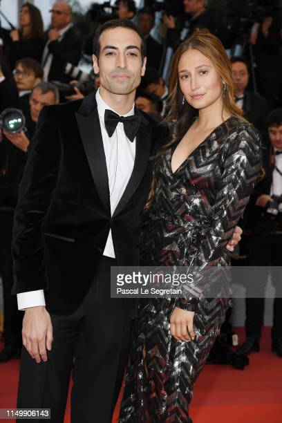 Siran Manoukian and Mohammed Al Turki attend the screening of Pain And Glory during the 72nd annual Cannes Film Festival on May 17 2019 in Cannes...