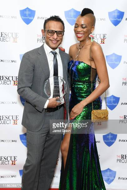 Sireen Gopal and Saahmeé attend The 3rd Annual Vision 2020 Ball By The Rescue Project Haven Hands Inc Brought To You By AMAZZZING HUMANS at 4W43 on...