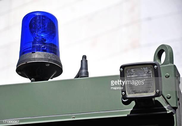 siren und Lampe