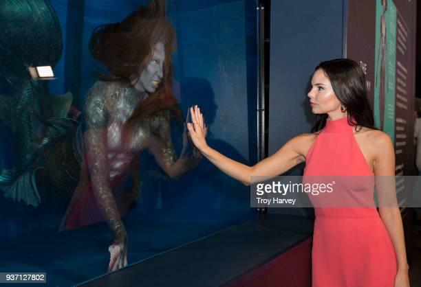 SIREN Siren Mermaid Museum Freeform celebrates the upcoming mermaid drama Siren with the opening of the Mermaid Museum in Hollywood CA at Goya...