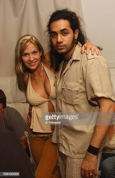Siren model Heidi Hawking with Anand Jon