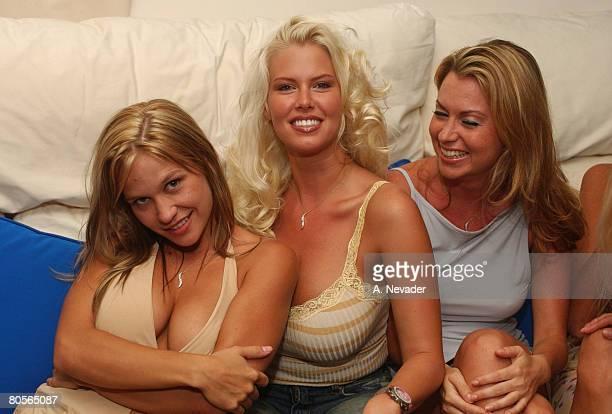 Siren models and former Playboy cover girls Heidi Hawking Latasha Marzolla and Melissa Arnold