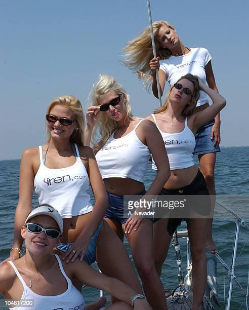 Siren models Heidi Hawking Nora Michele LaTasha Marzolla Melissa Arnold and Kristin Demauro