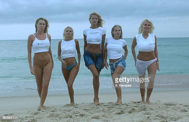 Siren models Melissa Arnold Nora Michele Kristin Demauro Heidi Hawking and LaTasha Marzolla