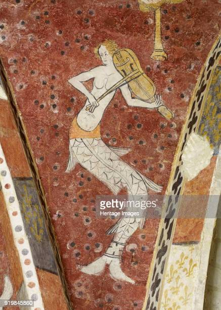 Siren playing music First Half of 14th cen Found in the collection of Musée de l'Oise BeauvaisFine Art Images/Heritage Images/Getty Images