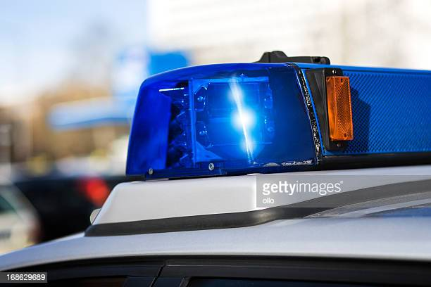 siren, police car - selective focus - emergency siren stock pictures, royalty-free photos & images