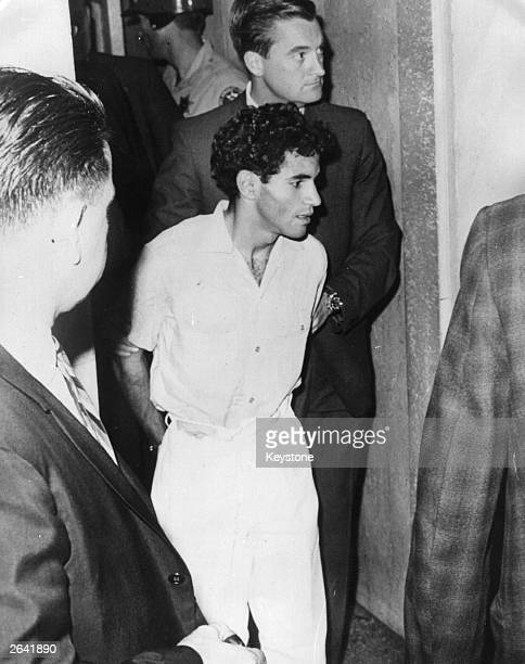 Sirhan Sirhan charged with the assassination of Senator Robert Kennedy during a campaign stop in California is the subject of intensive investigation...
