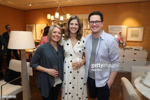 Siri Daly and Dylan Dreyer attend 'Siriously Delicious' by Siri Daly book launch event at Williams Sonoma Columbus Circle on April 14 2018 in New...