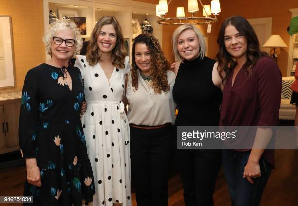 Siri Daly and guests attend 'Siriously Delicious' by Siri Daly book launch event at Williams Sonoma Columbus Circle on April 14 2018 in New York City
