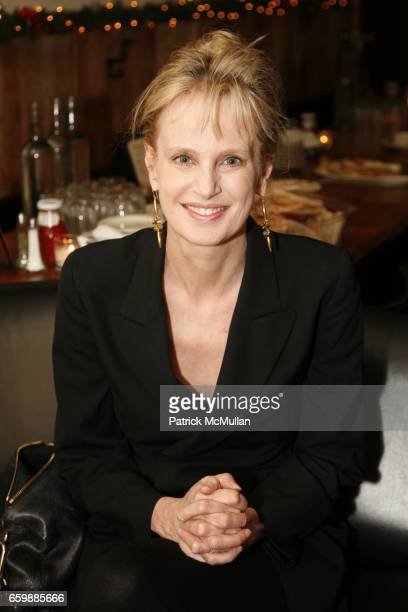 Siri Hustvedt attends PEN Edmont Holiday Benefit at The Half King on December 13 2009 in New York City