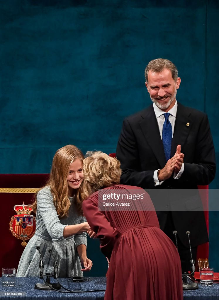 Ceremony - Princess of Asturias Awards 2019 : News Photo