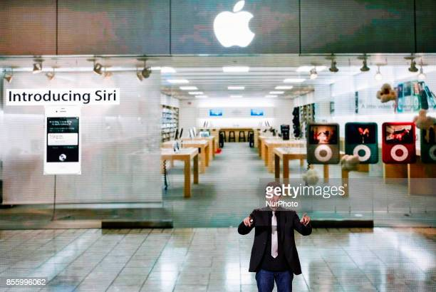 Siri Inc cofounder and formerly a director of engineering in the iPhone group at Apple Adam Cheyer performs in Kyiv Ukraine September 30 2017