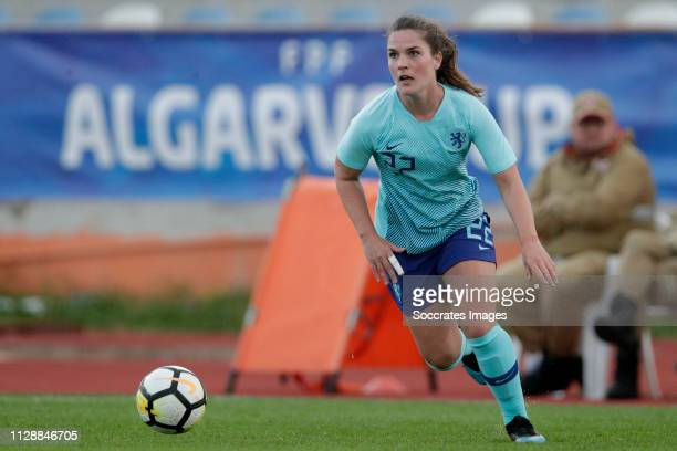 Siri Worm of Holland Women during the Algarve Cup Women match between China PR v Holland at the Estadio Municipal de Albufeira on March 6, 2019 in...