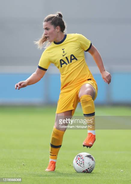 Siri Worm of Tottenham Hotspur Women during the WSL match between Manchester City Women and Tottenham Hotspur Women at Manchester City Football...