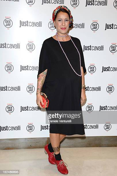 Siria attends the new Just Cavalli boutique opening party as part of Milan Womenswear Fashion Week on September 21 2012 in Milan Italy