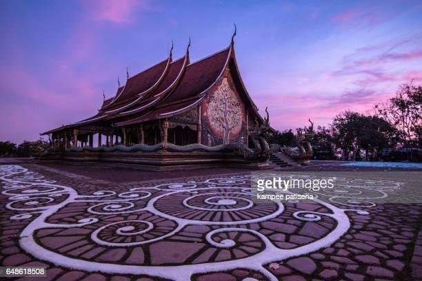 sirindhorn wararam phu prao temple (wat phu prao) - phosphorescence stock pictures, royalty-free photos & images