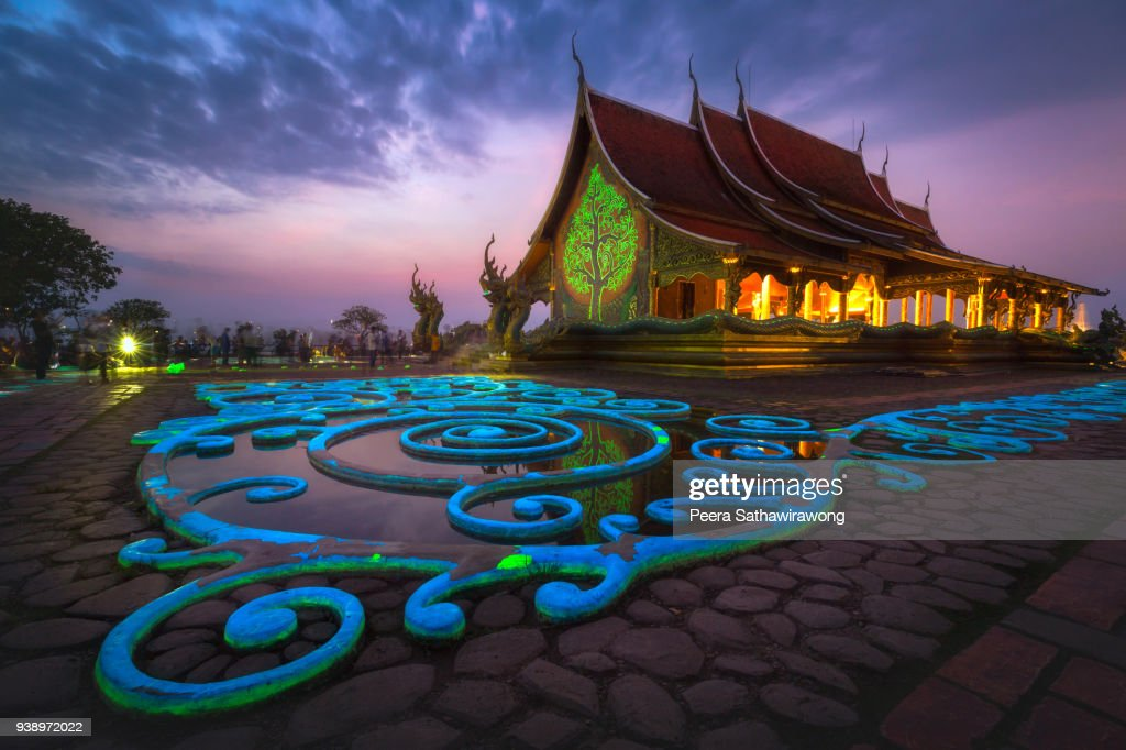 Sirindhorn Wararam Phu Prao Temple : Stock Photo