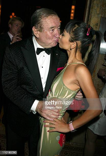 Sirio Maccioni and Bai Ling during 'Sirio Maccioni The Story of My Life' and 'Le Cirque' Book Party at Le Cirque 2000 in New York City New York...