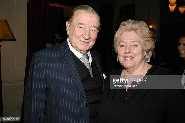 Sirio Maccioni and Egidiana Maccioni attend SAVORING CITYMEALS an intimate Sunday Dinner with DANIEL BOULUD to Benefit CITY MEAL ON WHEELS at...