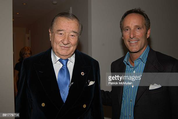 Sirio Maccioni and Richard Steinberg attend A Taste Of Things To Come party hosted by Louise M Sunshine and Barbara Russo to celebrate the Grand...