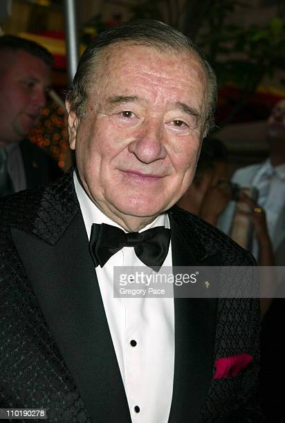 Sirio Maccioni during Sirio Maccioni The Story of My Life and Le Cirque Book Party at Le Cirque 2000 in New York City New York United States