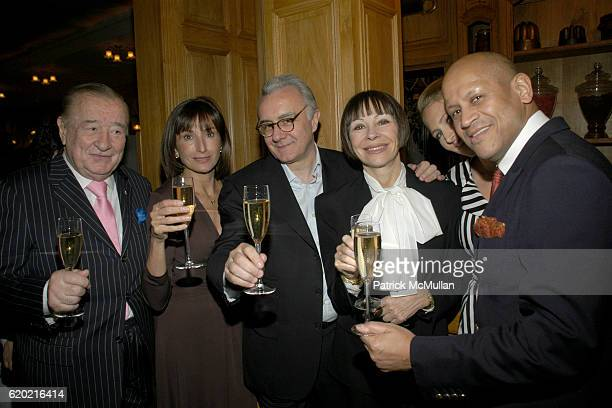 Sirio Maccioni guest Alain Ducasse Maguey LaCoze Gwenaelle Gueguen and guest attend Benoit Opening Party Hosted by Pamela Fiori and Alain Ducasse at...